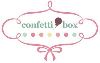 logo Confetti Box